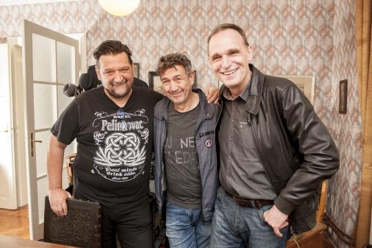 Albino Uršić, Radislav Jovanov Gozo i Vinko Brešan