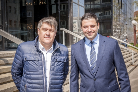 Boris Lalovac i Davor Bernardić
