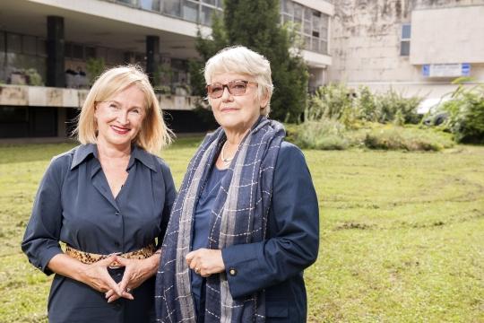 Borka Bobovec i Ivana Nikšić Olujić