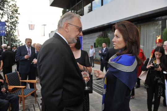Dan drzavnosti 2018 prijem kod predsjednice, Davor Božinović, Martina Bienenfeld