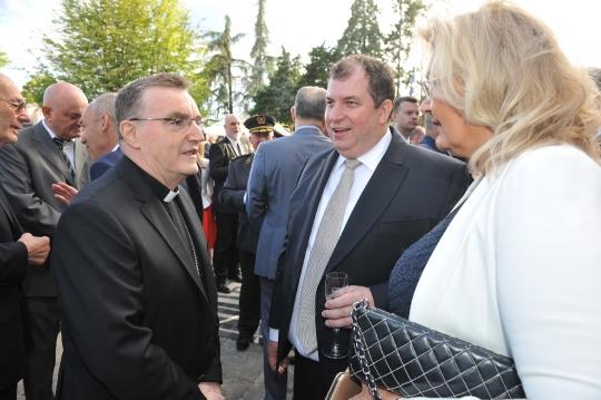 Dan drzavnosti 2018 prijem kod predsjednice, Josip Bozanić, Jakov Kitarović