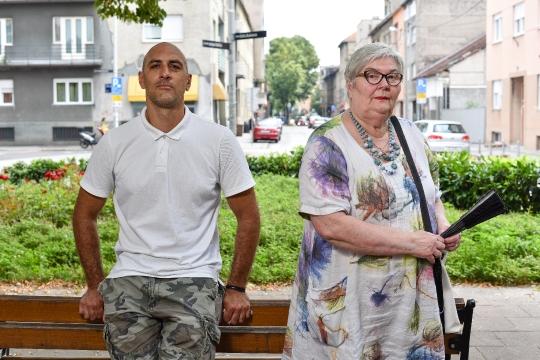 Gordana Vojković i Bruno Janković