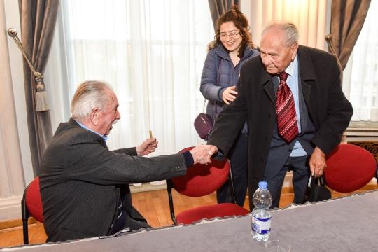 Ivan Mišković Brk, Josip Manolić