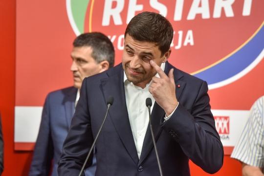 Izborna noć u stožeru SDP-a