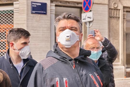 Potres 2020 u Zagrebu u doba Korona virusa