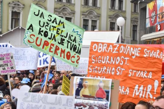 Prosvjed prosvjetara