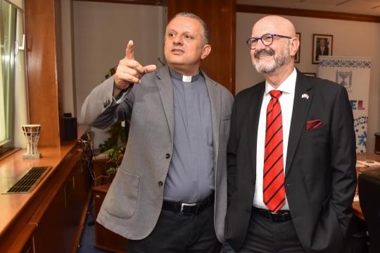 Susret izraelskog veleposlanika i rektora katoličkog sveučilišta