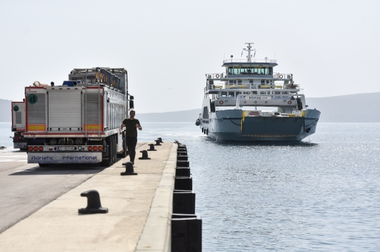 Trajektno pristanište Valbiska